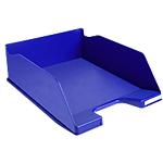 Corbeille à courrier Exacompta Classic 115104D Bleu