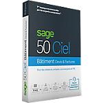 Logiciel de gestion Ciel Sage 50C Bâtiment & Devis (30 jours)