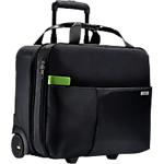 Valise cabine 4 roues Leitz Smart traveller 15 po Polyester Noir 41 x 13 x 31 cm