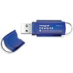 Clé USB Integral Courier 16 Go Bleu