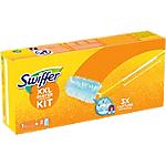 Kit Plumeau à poussière + 2 recharges Swiffer 6 x 12,5 cm