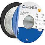 Câble Réseau 100 m OMENEX RJ45   CAT6 FTP