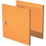 Lot de 2 portes 32,2 x 32,1 cm Orange