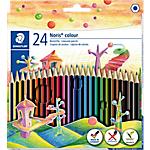 Crayons de couleurs STAEDTLER Wopex Noris   24 Unités