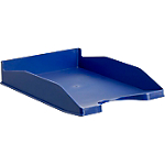 Corbeille à courrier   Office DEPOT   Bleu foncé