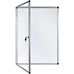 Vitrine d'affichage Aluminium Bi Office 72 x 67,4 cm