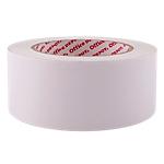 Ruban adhésif de masquage double face Tissu recouvert de polyethylène Niceday 5cm (l) x 33m (L) 190 microns Blanc