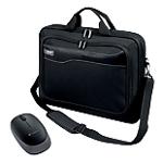 Sacoche pour ordinateur portable port design hanoï 17 noir