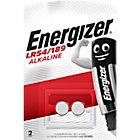 Piles bouton Energizer Alcaline LR54   2 Unités