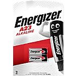 Piles alcalines Energizer Alkaline A23   2 Unités