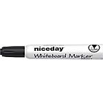 Marqueur pour tableau blanc Niceday WBM2.5 Bille 2.5 mm Noir