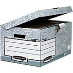 Conteneur pour boîtes d'archivage Fellowes Flip top maxi Gris 37,8 x 54,5 x 29,3 cm 10 Unités