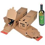 Boîte d'expédition Carton Bouteille 74 (L) x 74 (l) x 305 (P) mm Marron