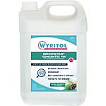 Nettoyant liquide multi usages désinfectant Wyritol 3D Concentré Bacterisol 7   5 L