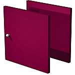 Lot de 2 portes Burocolor Prune   2 Unités