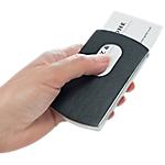 Étui carte de visite Pour cartes de visite (max. 91 x 57 mm) Sigel Snap   Noir, argenté