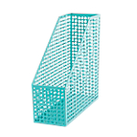 Porte revues Foray Mesh Turquoise