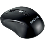 Souris sans fil KeyOuest KO010860 USB Noir