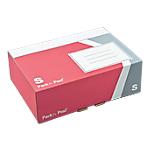 Boîte d'expédition GPV SMALL 25 (H) x 17,5 (l) x 8 (P) cm Rouge