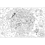 Poster géant à colorier Calendriers Bouchut Grandrémy 150 g