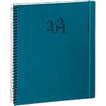 Agenda Exacompta Eurotime Swan 2020 1 Semaine sur 2 pages 21 x 29,7 cm Bleu