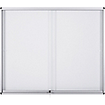 Vitrine d'affichage Bi Office Exhibit Aluminium 92,6 x 66,1 cm