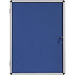 Vitrine d'affichage Aluminium Bi Office 94 x 128,8 cm