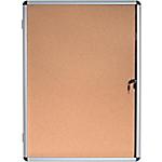 Vitrine d'affichage Aluminium Bi Office 72 x 98,1 cm
