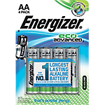 Piles alcalines Energizer Eco Advanced AA 4 Unités