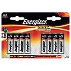 Piles alcalines Energizer Max LR6 AA