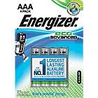 Piles alcalines Energizer Eco Advanced AAA