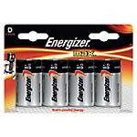 Piles alcalines Energizer Max D