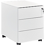 Caisson mobile 3 Gautier Office 540 x 540 mm Blanc