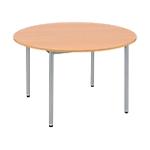 Table ronde Cafétéria 74 cm Imitation Hêtre