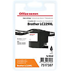 Cartouche jet d'encre Office Depot Compatible Brother LC229XL Noir