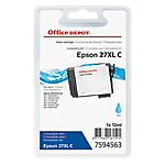 Cartouche jet d'encre Office Depot Compatible Epson 27XL Cyan T271240