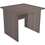 Bureau droit Easy Select 800 x 800 x 740 mm Imitation cèdre