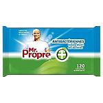 Lingettes nettoyantes Mr. Proper Antibactériennes   144 Unités