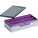 Boîte de rangement DURABLE VARICOLOR SMART OFFICE 6,2 (H) x 12,2 (l) x 23,5 (P) cm Gris, violet