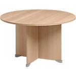 Table de réunion Gautier Office Jazz+ 1200 x 740 mm Imitation hêtre