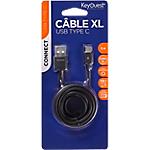 Câble micro USB KeyOuest Type C