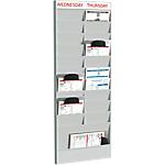 Planificateurs de bureau complément Polystyrène Paperflow 23,04 x 29,05 cm    Unités