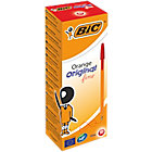 Stylo bille BIC Orange Original 0.3 mm Rouge   20 Unités