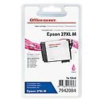 Cartouche jet d'encre Office Depot Compatible Epson 27XL Magenta T271340