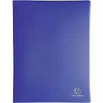 Album de présentation Exacompta 8557E PP 50 Pochettes A4 Bleu
