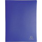 Album de présentation Exacompta 8562E PP 60 Pochettes A4 Bleu