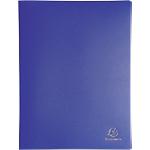 Protège documents Exacompta 8582E PP 80 Pochettes A4 Bleu