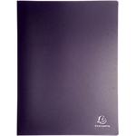 Album de présentation Exacompta 8581E PP 80 Pochettes A4 Noir