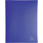 Protège documents Exacompta 85102E PP 100 Pochettes A4 Bleu