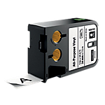 Ruban d'étiquettes industrielles DYMO XTL 24mm (L) x 5,5m (l) Noir, blanc   7 m